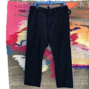 The GREAT Velvet Pant 2 M crop Convertible Trouser